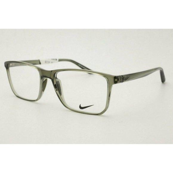 Nike Eyeglasses NK 7034 303 Gray Clear Eyeglasses